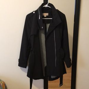 Michael Kors Belted Raincoat